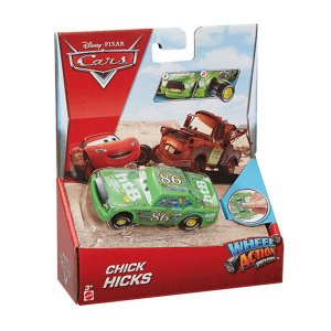 DKV38 DISNEY CARROS WHELL ACTION DRIVERS CHICK HICKS
