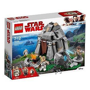 75200 LEGO STARWARS TREINAMENTO NA LHA AHCH-TO