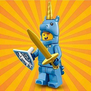 71021 LEGO FIGURAS SÉRIE 18 FESTA 40 ANOS UNICÓRNIO