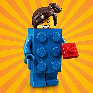 71021 LEGO FIGURAS SÉRIE 18 FESTA 40 ANOS BLOCO AZUL
