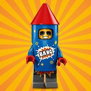 71021 LEGO FIGURAS SÉRIE 18 FESTA 40 ANOS FOGUETE
