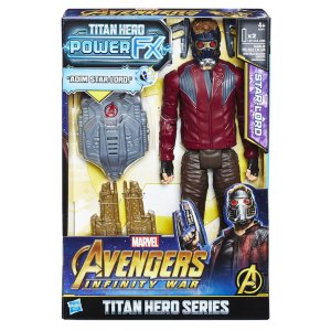 E0611 MARVEL TITAN HERO 30CM POWER FX INFINITY WAR STAR LORD