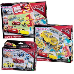 AQUABEADS KIT CARROS 3 PLAYSET COMPLETO 30188+30218+30208