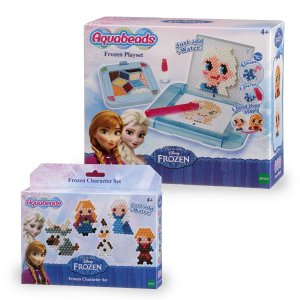 AQUABEADS KIT FROZEN PLAYSET E PERSONAGENS 30738+30758