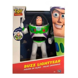 35716 DISNEY TOY STORY BONECO BUZZ LIGHTYEAR COM SOM 30CM