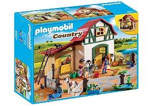 6927 PLAYMOBIL COUNTRY FAZENDINHA COM PÔNEIS