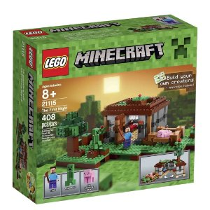 21115 LEGO MINECRAFT  A Primeira Noite