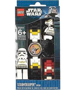 40055 LEGO STARWARS  Relógio de Pulso Stormtrooper
