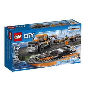 60085 LEGO CITY  4x4 com Barco a Motor