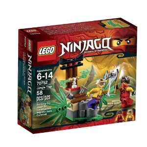 70752 LEGO NINJAGO  Armadilha da Selva