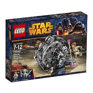 75040 LEGO STARWARS  General Grievous' Wheel Bike