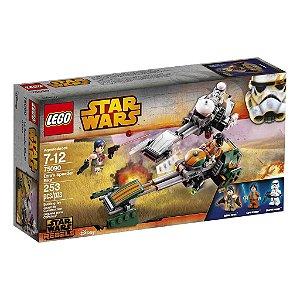 75090 LEGO STARWARS  A Speeder Bike de Ezra