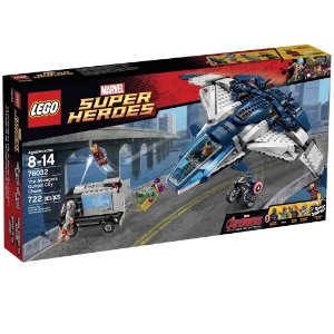 76032 LEGO MARVEL  Perseguição dos Vingadores com Quinjet