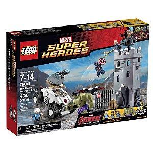 76041 LEGO MARVEL  O Combate na Fortaleza de Hydra