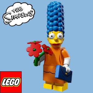 71009 LEGO SIMPSONS  Minifiguras S2 - Marge