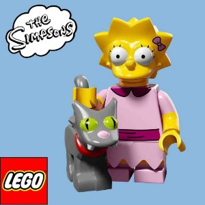 71009 LEGO SIMPSONS  Minifiguras S2 - Lisa e Bola de Neve