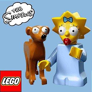 71009 LEGO SIMPSONS  Minifiguras S2 - Maggie e A.P. Noel