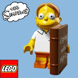71009 LEGO SIMPSONS  Minifiguras S2 - Martin