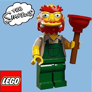 71009 LEGO SIMPSONS  Minifiguras S2 - Zelador Willie