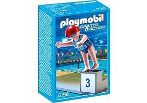 5198 PLAYMOBIL ESPORTES  OLIMPIADAS  - NATAÇÃO