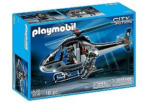 5975 PLAYMOBIL CIDADE  HELICOPTERO DA POLÍCIA