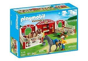 5983 PLAYMOBIL COUNTRY  ESTÁBULO DE PÔNEI