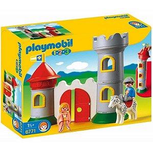 6771 PLAYMOBIL 1.2.3.  MEU PRIMEIRO CASTELO MEDIEVAL
