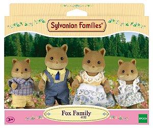 3541 SYLVANIAN FAMILIES  FAMÍLIA DAS RAPOSAS