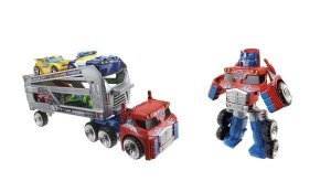 A2572 TRANSFORMES  RESCUE BOTS TRAILLER OPT PRIME