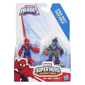 A7109 MARVEL  SUPER HERO - H. ARANHA E DUENDE VERDE