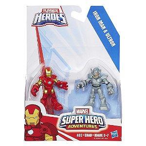 A7109 MARVEL  SUPER HERO - HOMEM DE FERRO E ULTRON
