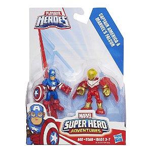 A7109 MARVEL  SUPER HERO - CAP. AMERICA E FALCON