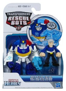 A0672 TRANSFORMES  RESCUE BOTS CHASE POLICE E CHEFE BURNS