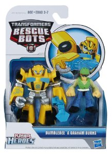 A0672 TRANSFORMES  RESCUE BOTS BUMBLEBEE E GRAHAM