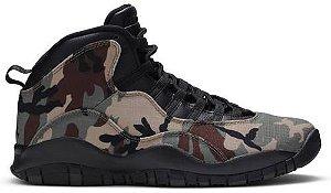 Tênis Nike Air Jordan 10 Retro - Woodland Camo