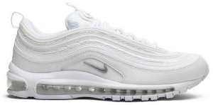 Tênis Nike Air Max 97 Triple White - Wolf Grey