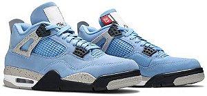 Tênis Nike Air Jordan 4 Retro - University Blue