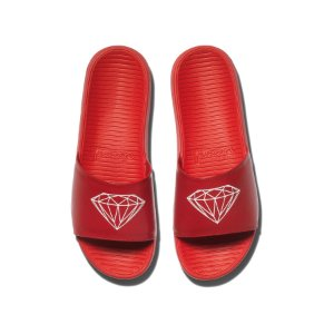Chinelo Diamond FairFax Slide Red