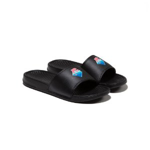 Chinelo Pink Dolphin Waves Slide