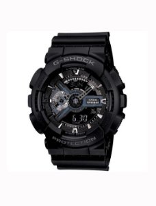 Relógio Casio - G-Shock GA110-1B Military Series Black
