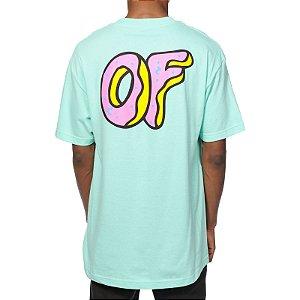 Camiseta Odd Future Pastel OF Logo - Light Blue