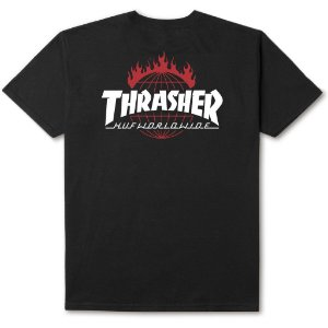 Camiseta HUF x Thrasher TDS Black