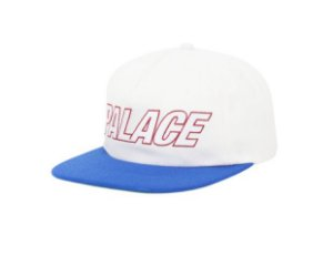 Boné 5-Panel Palace Font - Royal