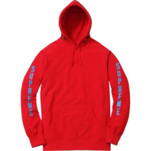 Moletom Supreme x Thrasher® Boyfriend Hooded Sweatshirt Red