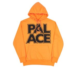 Moletom Palace London Hoodie - Orange