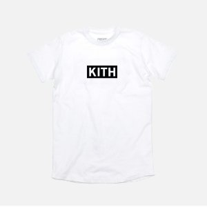 Camiseta KITH Box Logo - White