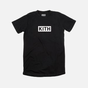 Camiseta KITH Box Logo - Black