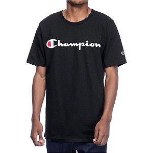 Camiseta Champion Script Black