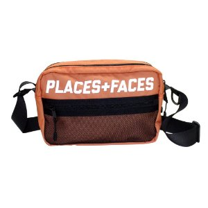 Places+Faces Refletive Pouch Bag - Orange