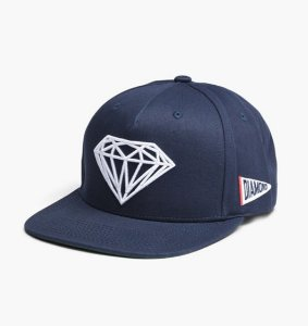 Boné Diamond Brilliant Snapback Navy